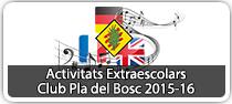 Activitats Extraescolars 2015-16