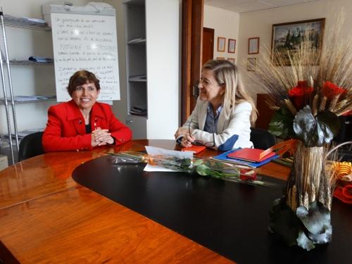 Visita oficial de la Diputada Neus Lloveres a Canyelles