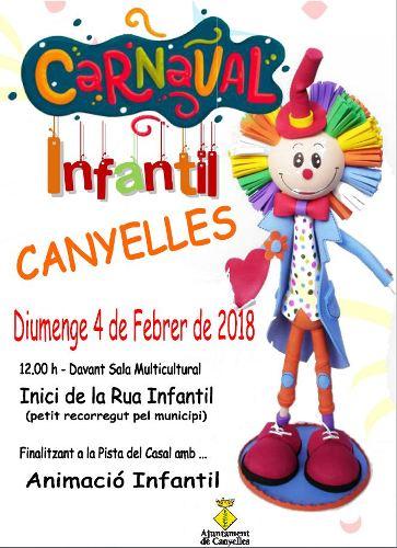 2018 02 04 CarnavalInfantilCartell