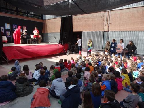 Jornada esportiva, jocs florals i representacions teatrals per a celebrar el Sant Jordi als centres educatius de Canyelles