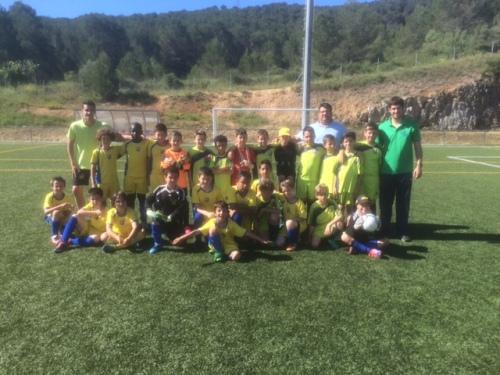 Canyelles epicentre de les finals territorials de futbol 7 dels jocs esportius escolars de Catalunya
