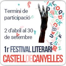 1r Festival Literari de Canyelles